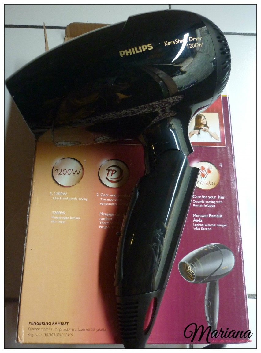 philips kerashine hair dryer